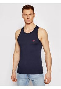 Emporio Armani Underwear Tank top 110828 1P512 00135 Granatowy Regular Fit. Kolor: niebieski