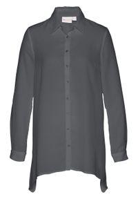 Szara bluzka bonprix długa