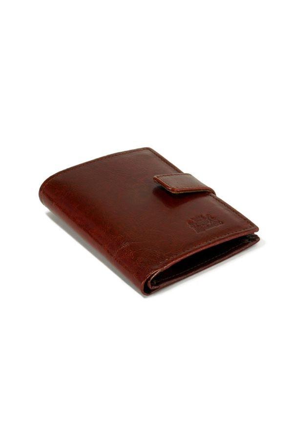 Brązowy portfel Perfekt Plus