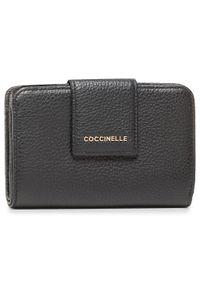 Czarny portfel Coccinelle