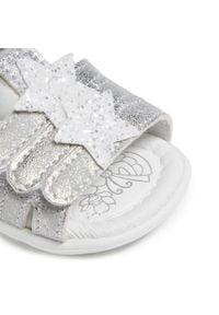 Primigi - Sandały PRIMIGI - 7411700 Bian. Kolor: biały. Materiał: skóra, zamsz