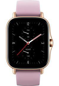 Różowy zegarek AMAZFIT smartwatch