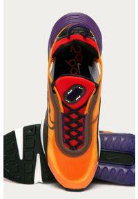 Pomarańczowe sneakersy Nike Sportswear z cholewką, Nike Air Max, na sznurówki #4
