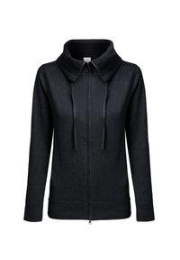 Czarny sweter Deha długi