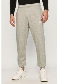 Szare spodnie dresowe Nike Sportswear