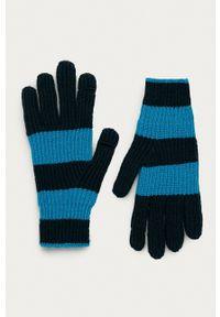 GAP - Rękawiczki. Kolor: niebieski