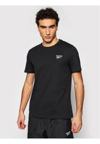 Czarny t-shirt Reebok Classic