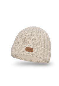 Beżowa czapka PaMaMi