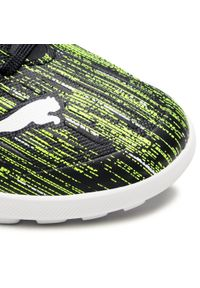 Puma - Buty PUMA - Ultra 4.2 Tt Jr 106367 02 Black/White/Yellow Alert. Kolor: zielony. Materiał: skóra ekologiczna, skóra. Szerokość cholewki: normalna