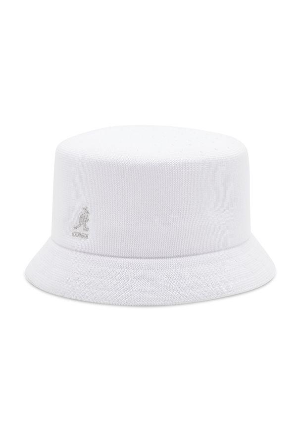 Kangol - Kapelusz KANGOL - Bucket Tropic Bin K3299HT White WH103. Kolor: biały. Materiał: poliester, materiał