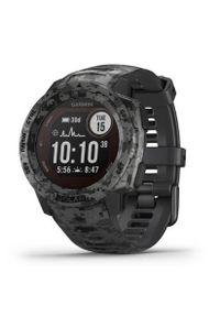 Szary zegarek GARMIN sportowy, cyfrowy