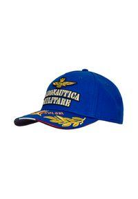Niebieska czapka Aeronautica Militare z aplikacjami