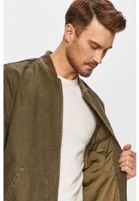 Zielona kurtka Levi's® bez kaptura, casualowa, na spotkanie biznesowe