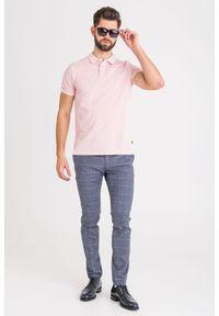 Koszulka polo JOOP! Jeans polo, z nadrukiem, sportowa