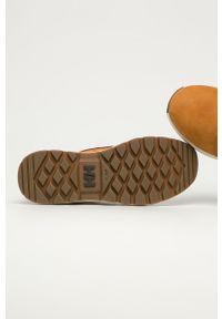 Oliwkowe buty trekkingowe Helly Hansen z cholewką, na sznurówki