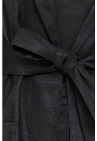 MAX&Co. - Marynarka. Okazja: na co dzień. Kolor: czarny. Materiał: tkanina. Wzór: gładki. Styl: klasyczny, casual