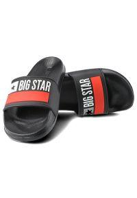Big-Star - Klapki BIG STAR GG274A045 Czarny. Okazja: na plażę. Kolor: czarny. Styl: wakacyjny