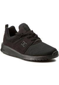 Czarne buty sportowe DC na co dzień, DC Heathrow, z cholewką
