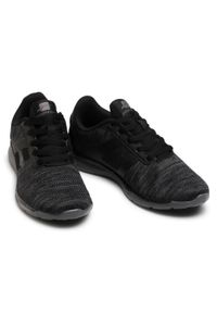 Czarne buty do fitnessu Bagheera