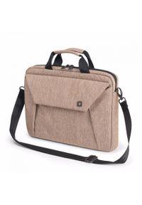 Beżowa torba na laptopa DICOTA
