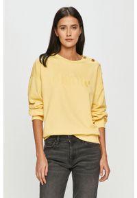 Jacqueline de Yong - Bluza. Kolor: żółty