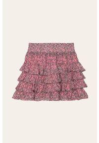 Różowa spódniczka Name it w kwiaty