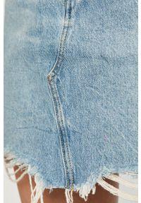 Levi's® - Levi's - Spódnica jeansowa. Okazja: na co dzień, na spotkanie biznesowe. Kolor: niebieski. Materiał: jeans. Styl: casual, biznesowy