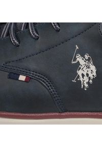 U.S. Polo Assn - Sneakersy U.S. POLO ASSN. - Cree1 YGOR4125W9/U2 Dkbl. Okazja: na co dzień. Kolor: niebieski. Materiał: skóra ekologiczna, skóra. Szerokość cholewki: normalna. Styl: elegancki, sportowy, casual