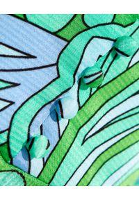 ALICE MCCALL - Sukienka mini Mexicola. Kolor: zielony. Materiał: wiskoza. Wzór: nadruk, kwiaty. Typ sukienki: rozkloszowane. Długość: mini