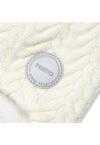 Reima - Czapka REIMA - Murmeli 518564 White 0100. Kolor: biały. Materiał: wełna, materiał