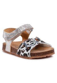 Srebrne sandały Sergio Bardi Young na lato