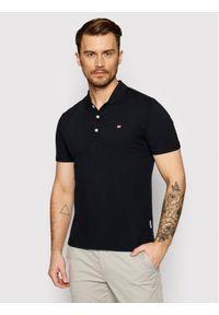 Czarna koszulka polo Napapijri polo