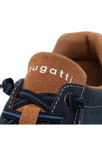 Niebieskie sneakersy Bugatti