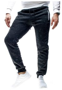 Czarne spodnie dresowe Recea