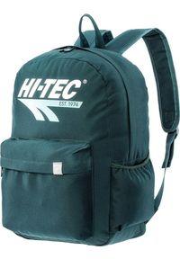 HITECH Plecak miejski szkolny sportowy Hi-Tec Brigg zielony 28L. Kolor: zielony. Styl: sportowy