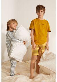 Żółta piżama Mango Kids krótka