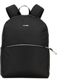 Czarny plecak na laptopa Pacsafe