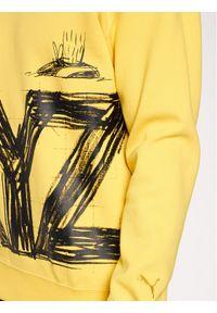 Puma Bluza MICHAEL LAU G Crew 530358 Żółty Regular Fit. Kolor: żółty