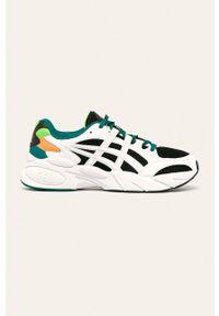 Białe sneakersy Asics Tiger na sznurówki, Asics Tiger, z cholewką