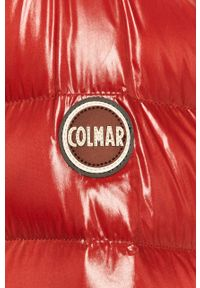 Czerwona kurtka Colmar casualowa, na co dzień, z kapturem