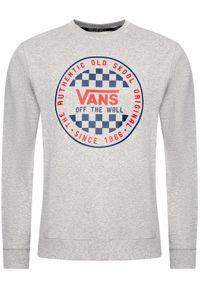 Vans Bluza Checker Crew VN0A49TL02F1 Szary Regular Fit. Kolor: szary
