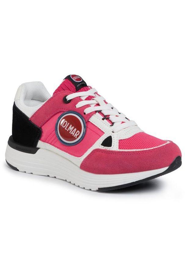Różowe buty sportowe Colmar