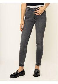 Szare jeansy slim Calvin Klein