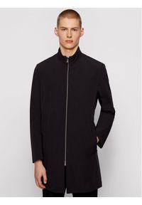 BOSS - Boss Płaszcz przejściowy Deean 50450011 Czarny Slim Fit. Kolor: czarny