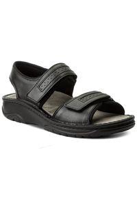 Czarne sandały Berkemann na lato