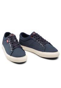 Levi's® - Sneakersy LEVI'S® - 231571-766-17 Navy Blue. Okazja: na co dzień. Kolor: niebieski. Materiał: skóra ekologiczna, materiał. Szerokość cholewki: normalna. Styl: casual