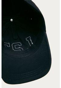 Niebieska czapka z daszkiem Lacoste z aplikacjami #4