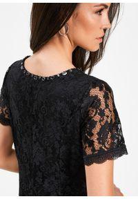 Czarna sukienka bonprix elegancka