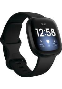 FITBIT - Smartwatch Fitbit Versa 3 Czarny (4061856798509). Rodzaj zegarka: smartwatch. Kolor: czarny