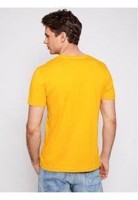 Żółty t-shirt TOMMY HILFIGER